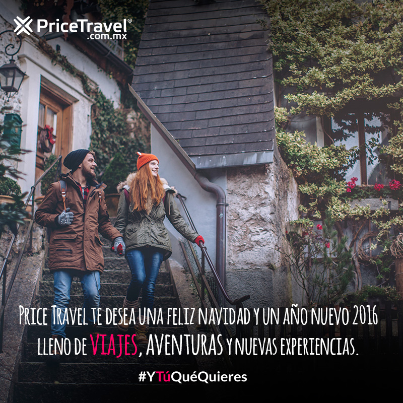 PriceTravel te desea feliz Navidad