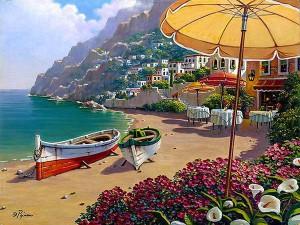 Las mejores playas italianas, playas de la Costa Amalfitana, turismo en Italia