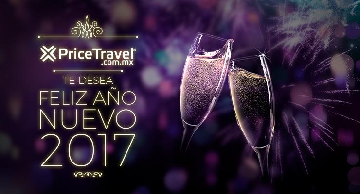PriceTravel te desea un feliz Año Nuevo 2017