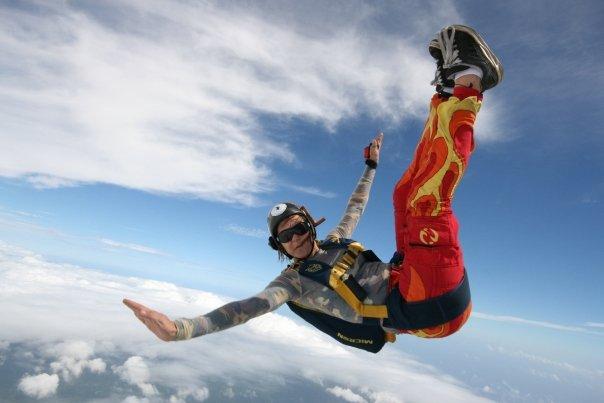 Deportes extremos: paracaidismo en Puerto Escondido