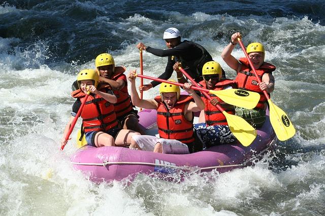 Deportes extremos: rafting en el Cajón del Maipo
