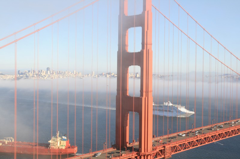 Cruceros en el Pacífico, de Vancouver a San Francisco